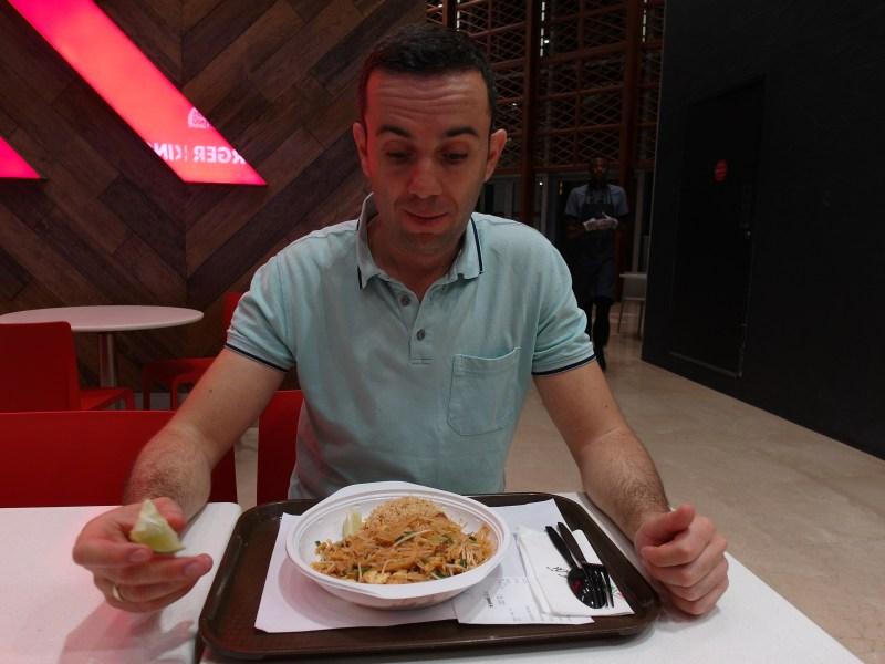 Корейската ми манджа в Мол Дубай, Дубай