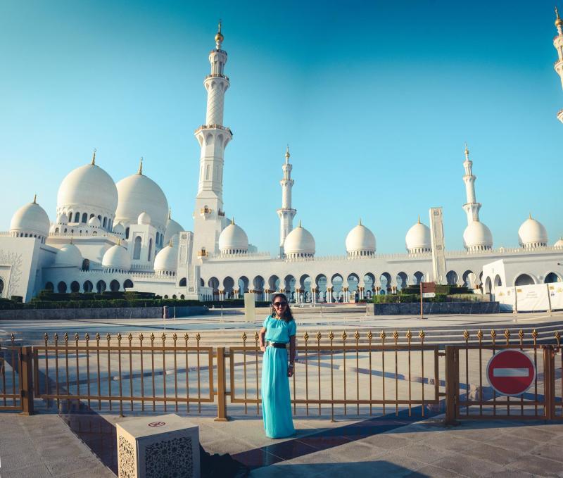 Джамията Sheikh Zayed, Абу Даби