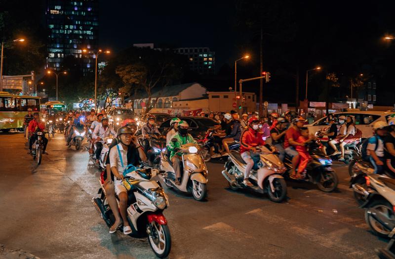 Сайгонски трафик