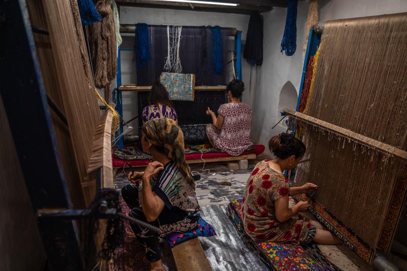 Да си направим килимче - Хива, Узбекистан