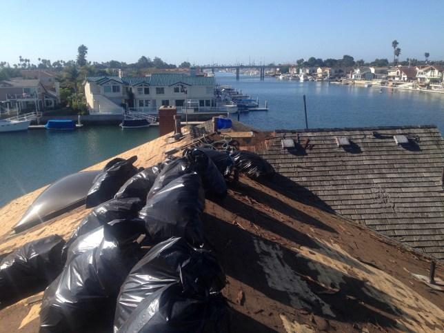 Clean debris removal