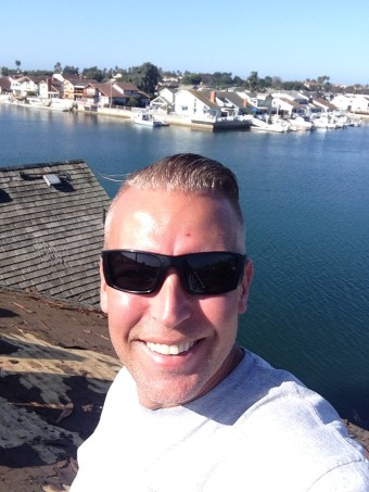 Me (Nick Ciari) enjoying the harbor view from the roof.