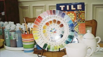 #60 – Parasol Arts Pottery Painting