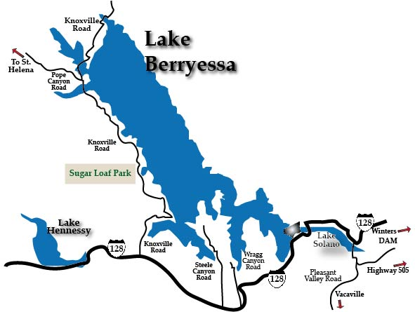 Lake Berryessa Fire Map.Lake Berryessa 101 Things To Do Wine Country