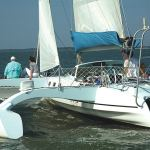 32.  Fly in a Trimaran