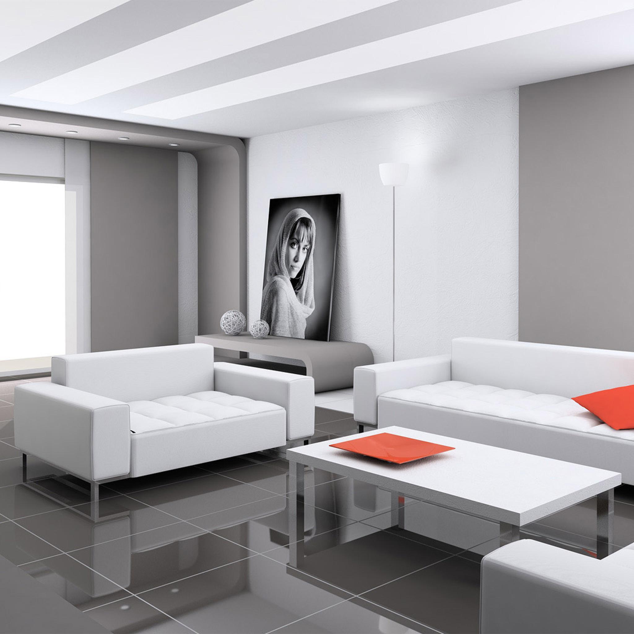 Miscellaneous - Minimalist Living Room Design Ideas - iPad ... on Minimalist Living Room Design  id=70246
