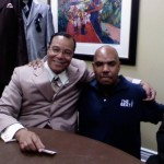 P.A. with the Honorable Minister Louis Farrakhan