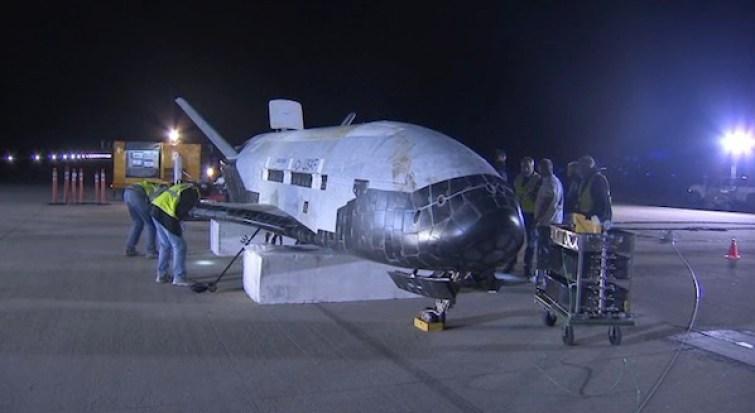 The X-37B spacecraft