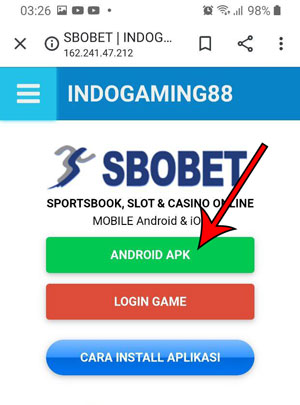 Download Sbobet APK Android