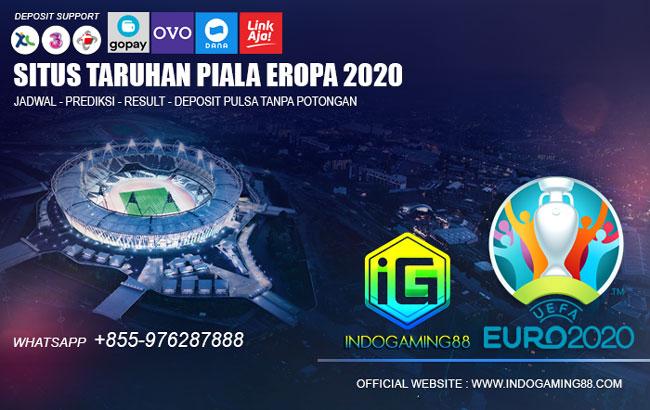 Deposit Judi Bola Piala Eropa 2021