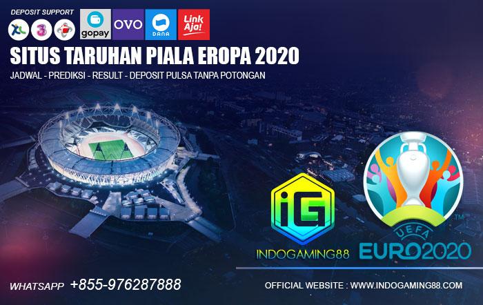Deposit Pulsa Piala Eropa 2021 Tanpa Potongan