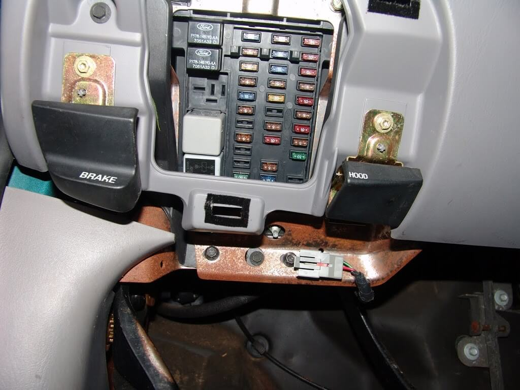 1997 Ford F150 Power Windows Inop on 2000 ford windstar fuse panel