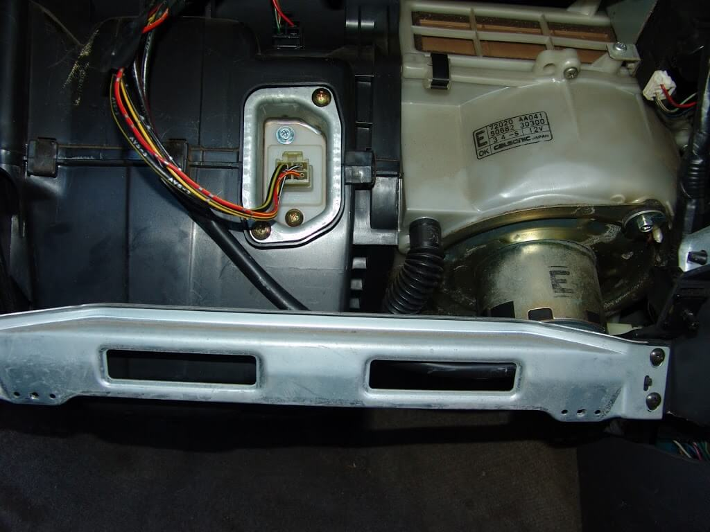 it is located above the driver's side fuse box and is quite difficult to  find  so hard that i could not get a picture of