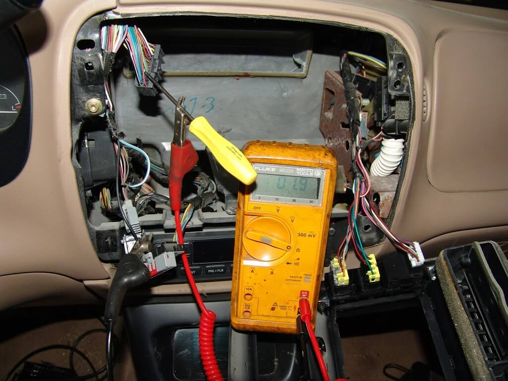 Sparkys Answers 1997 Ford Explorer The Interior Lights Stay On In Order To Remove Latch Assembly And Or Door Ajar Switch Right Side Tailgate Would Not Open Position I Found A Couple Of Things Wrong At Tail Gate First All