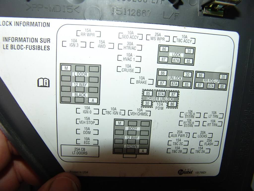 2005 silverado fuse box diagram 2005 image wiring sparkys answers 2005 chevrolet silverado adding cruise control on 2005 silverado fuse box diagram