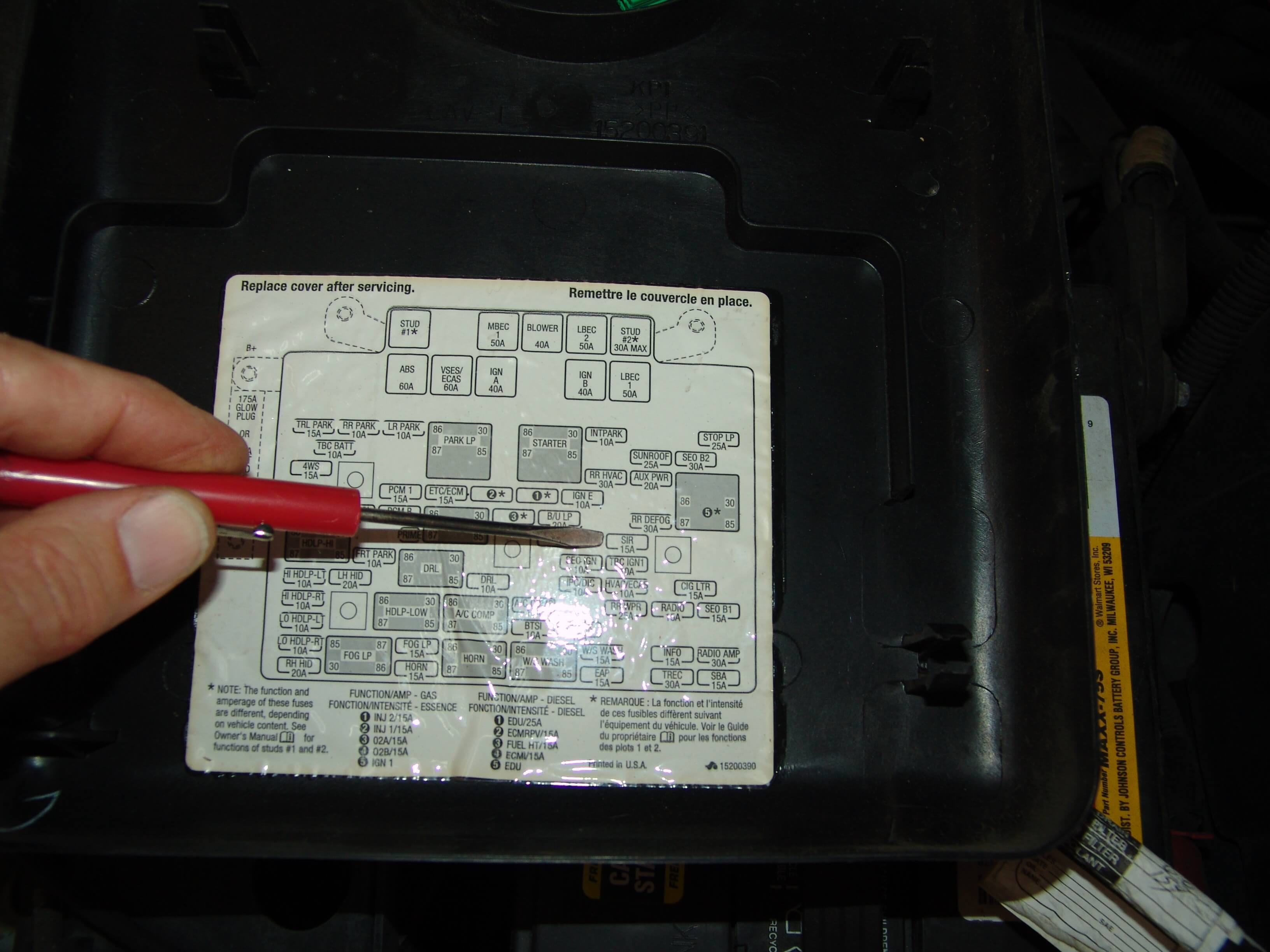 2004 Gmc Yukon Fuse Box Location Another Blog About Wiring Diagram 2002 Chevy Trailblazer Envoy 04