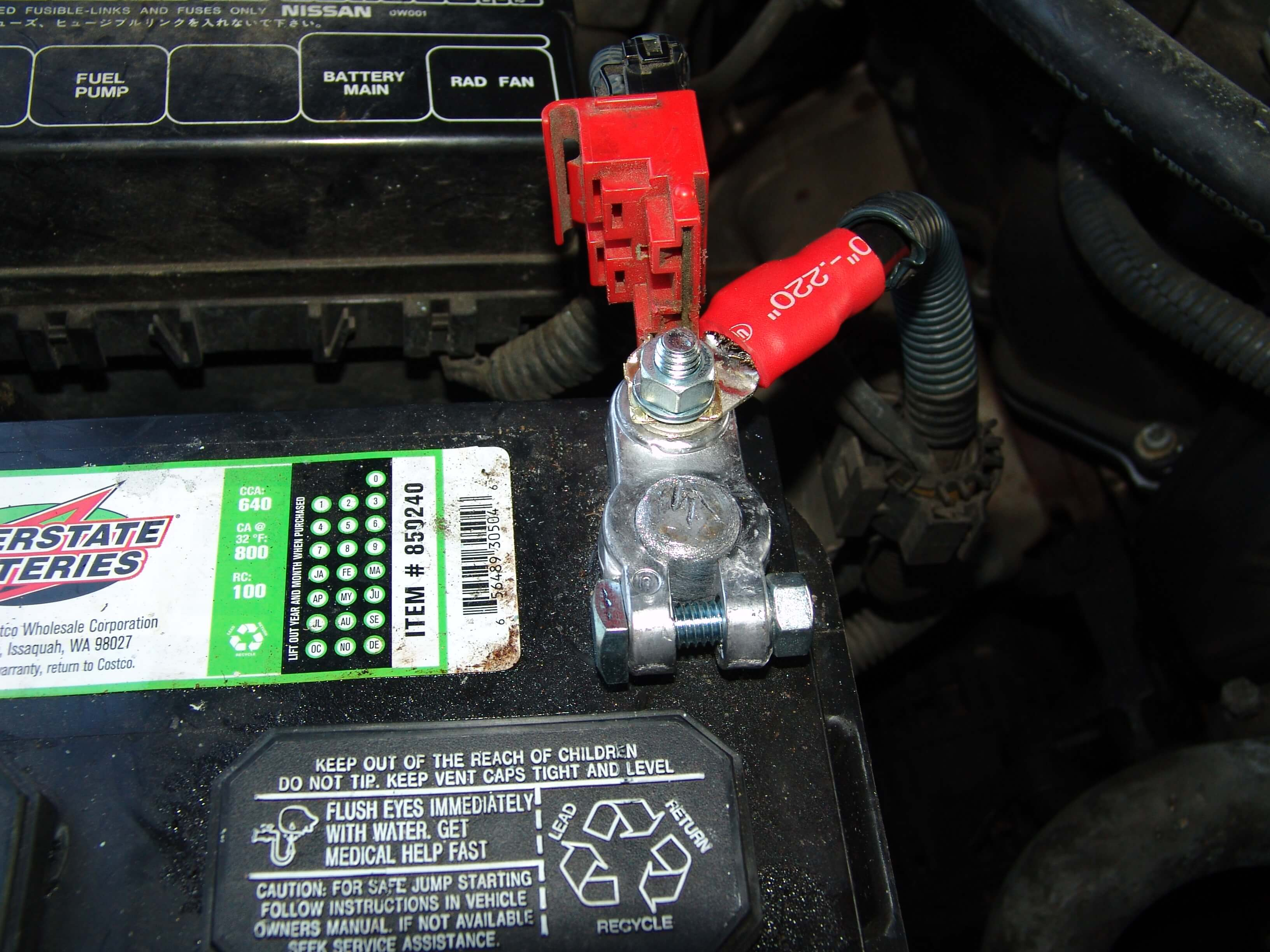 Sparkys Answers - 1996 Nissan Pathfinder, Installing a New