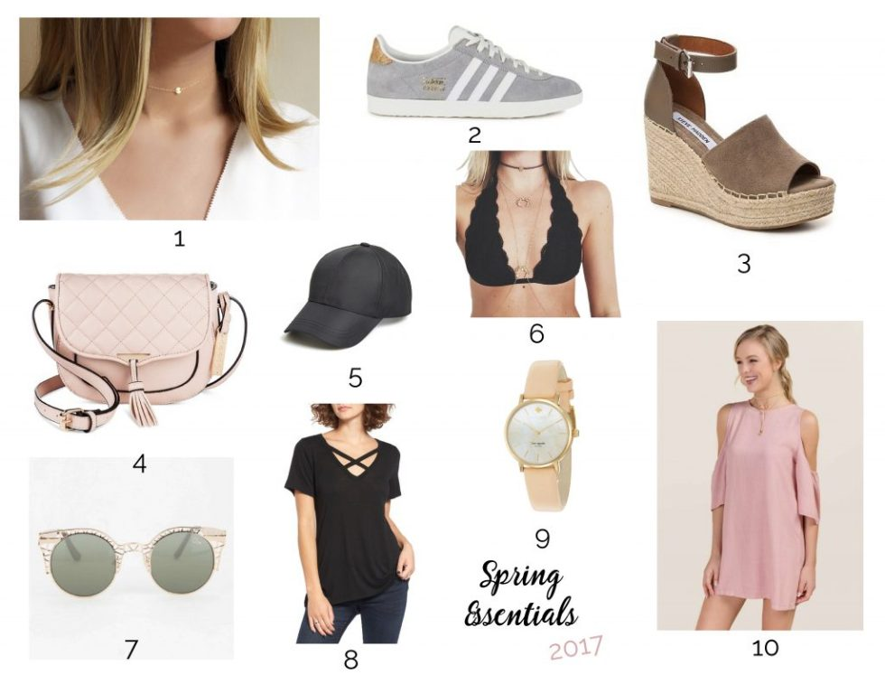 ten trendy spring fashion essentials for 2017 style