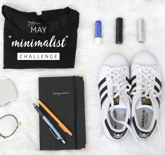 may minimalism challenge flat lay minimalist