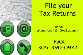 Miami Lakes Accountant No Time to come to the Office Fax and email service.