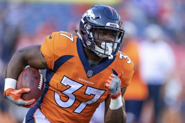 Image result for royce freeman broncos