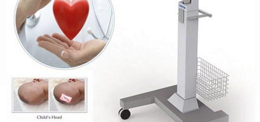 παράδοση ιατρικού μηχανήματος ανίχνευσης φλεβών