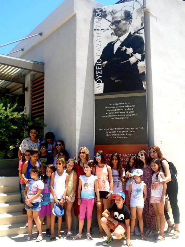 Τα παιδιά κάνουν θέατρο στο Ηράκλειο