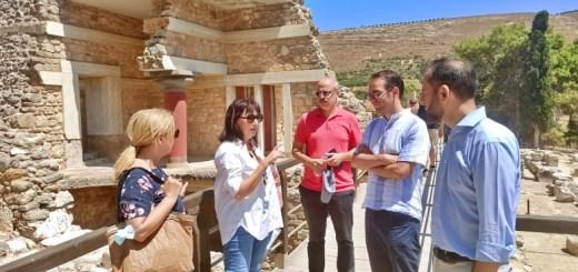 Συνάντηση Περιφερειάρχη Κρήτης για την ενίσχυση της συνεργασίας με την ΟΥΝΕΣΚΟ