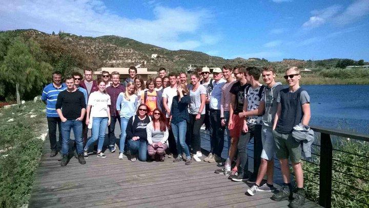 Ολλανδικό Πανεπιστήμιο Wageningen, ξενάγηση στη Κρήτη