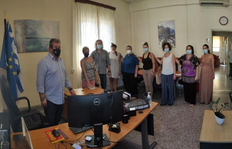 η Διεύθυνση Δευτεροβάθμιας Εκπαίδευσης Λασιθίου καλωσορίζει τους νεοδιόριστους