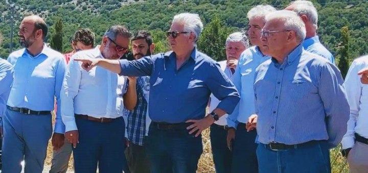 Ξεκινά η κατασκευή των Αρδευτικών Δικτύων της Λιμνοδεξαμενής Αγίου Γεωργίου Οροπεδίου Λασιθίου