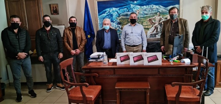 Επίσκεψη Θραψανιώτη στο Οροπέδιο Λασιθίου
