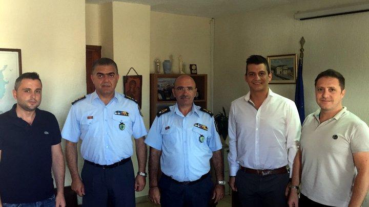 Αστυνομικοί Λασιθίου συνάντηση με Α.Δ. Κρήτης