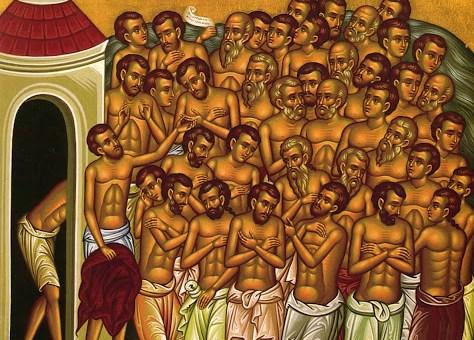 Πανήγυρη Ιερού Ναού Αγίων Τεσσαράκοντα Ενορίας Κουτσουναρίου, χειροτονία Διακόνου