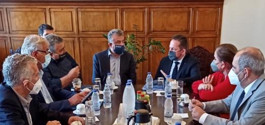 Αρναουτάκης: Ικανοποιημένοι γιατί δεν θα χαθούν πόροι από το νησί