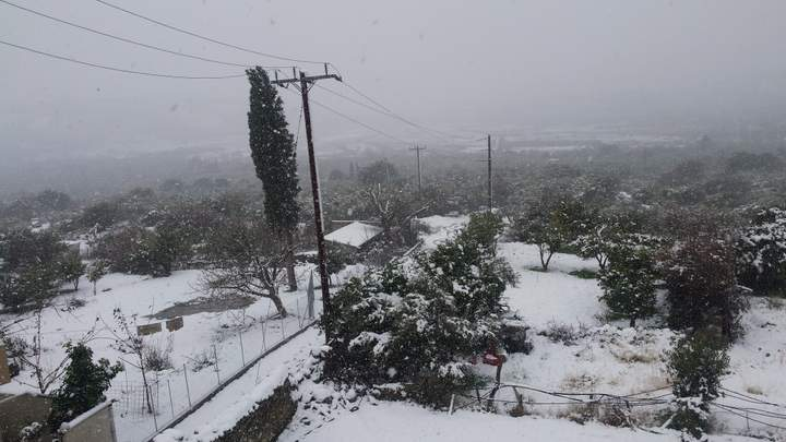 χιονιάς, αποκλεισμένοι δρόμοι και στο ν. Λασιθίου, αλυσίδες .....