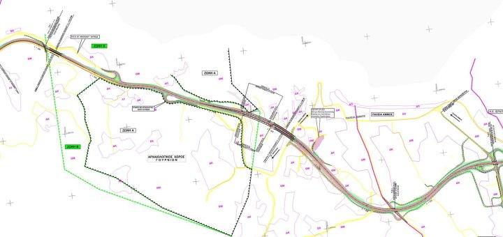 εγκρίθηκε η Προμελέτη του οδικού τμήματος Γέφυρα Φρουζή - Παχειά Άμμος