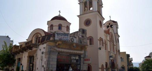 Κατεδαφίζεται το ακίνητο Ρούβαλη μπροστά από την Αγία Τριάδα