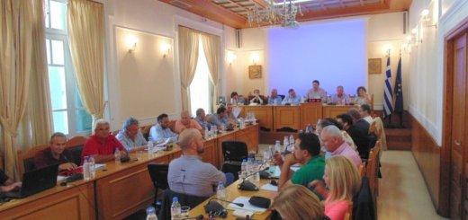 Συνεδρίαση του Περιφερειακού Συμβουλίου Πέμπτη 31 Ιανουαρίου 2019