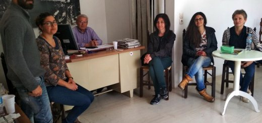 Συνάντηση Θραψανιώτη με Πρωτοβουλία Πολιτών για τον Γαργαδόρο