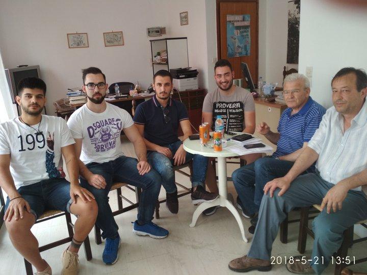 Συνάντηση Θραψανιώτη με φοιτητές ΤΕΙ Αγίου Νικολάου