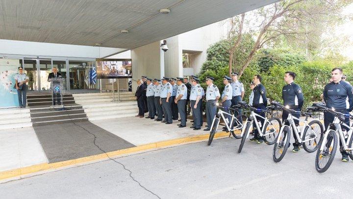 Ο θεσμός της εμφανούς αστυνόμευσης με ποδήλατα σε Χανιά και Ηράκλειο