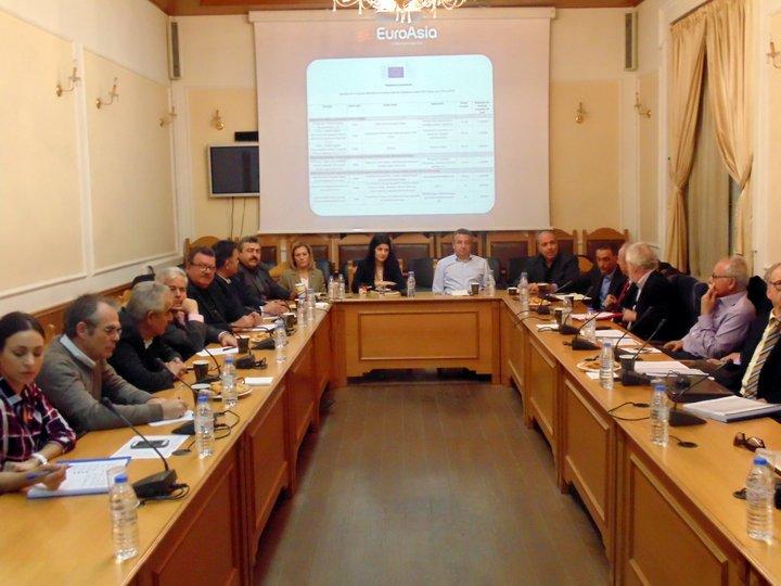 συνάντηση στη περιφέρεια Κρήτης