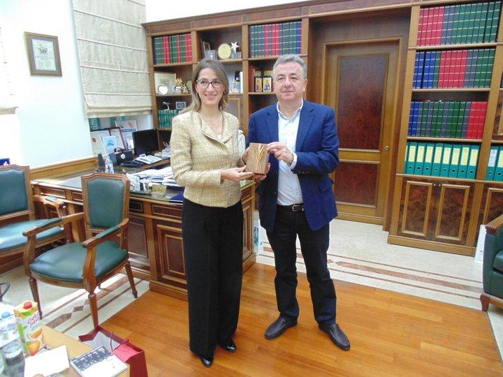 Η πρόξενος της Τουρκίας στη Περιφέρεια Κρήτης