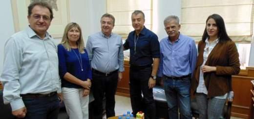 Συνάντηση Αρναουτάκη Θεοδωράκη για έργα υποδομής ανάπτυξης της Κρήτης