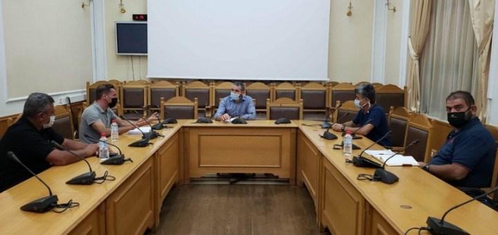 Συνάντηση Αντιπεριφερειάρχη Πρωτογενή τομέα με την νέα διοίκηση του ενιαίου αγροτικού συλλόγου Ιεράπετρας