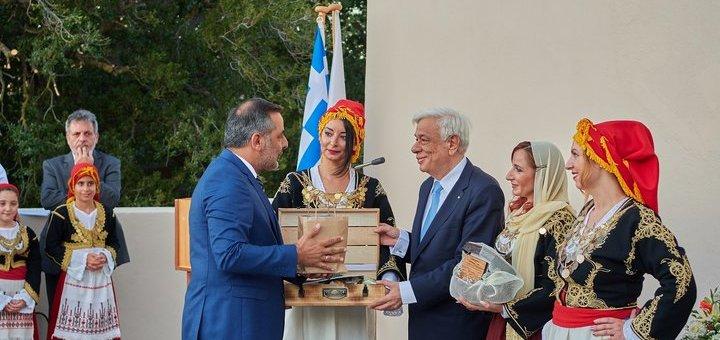 Το λίκνο του πολιτισμού το Λασίθι υποδέχτηκε τον πρόεδρο της δημοκρατίας