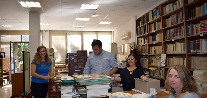 η Κουνδούρειος Βιβλιοθήκη ανακαινίζεται