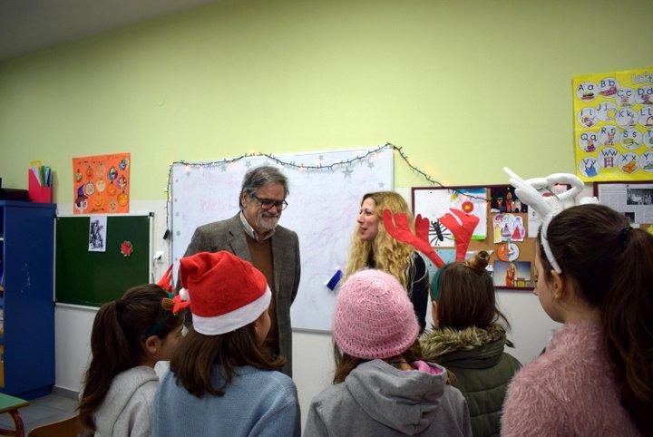 οι μαθητές του 2ου Δημοτικού Σχολείου Αγίου Νικολάου για τον εθελοντισμό