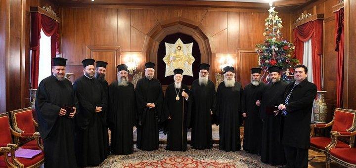 Συνοδική αντιπροσωπεία της Εκκλησίας Κρήτης στο Πατριαρχείο